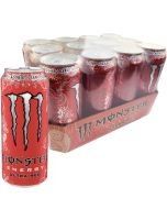 Monster Energy Ultra Red energiajuoma 500ml x 12-pack