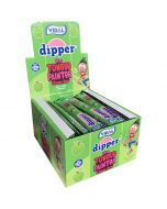 Vidal Dipper Tongue Painter Sour Apple toffeetanko 100kpl