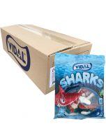 Vidal Jelly Sharks 70g x 18kpl