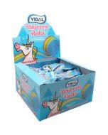 Vidal Unicorn mansikkaremmirulla 24kpl