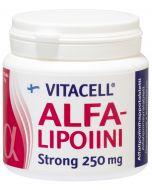 Vitacell Alfalipoiini Strong 250mg