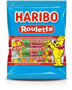 Haribo Roulette viinikumi 4-pack 100g