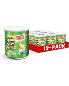 Pringles Sourcream & Onion perunalastu 40g x 12kpl