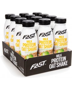 Fast Milk Protein Oatshake Omena-Vanilja proteiinijuoma 330ml x 12-pack