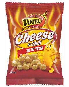 Taffel Cheese & Chili Nuts pähkinät 150g